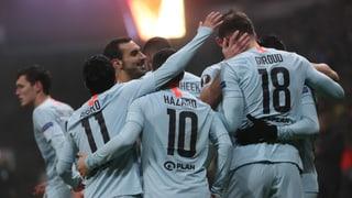 Chelsea, Frankfurt, Lazio und Zagreb im Sechzehntelfinal