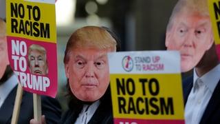Protestas encunter Trump
