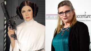 Carrie Fisher war zu dick für «Star Wars»