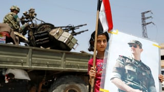 Rebellen geben auch am Golan auf