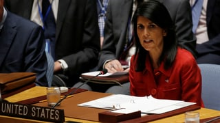 Am Ende der strategischen Geduld: Im UNO-Sicherheitsrat halten sich die USA einen Militärschlag gegen Nordkorea als «letzte Option» offen.