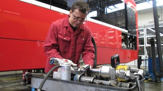 Vom Fotografen zum Bus-Mechaniker (Artikel enthält Bildergalerie)