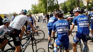Der Giro betritt in Jerusalem Neuland