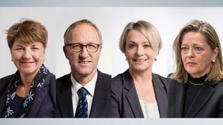 PCD: Las candidatas ed il candidat per la successiun da Leuthard