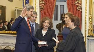 John Kerry als neuer Aussenminister vereidigt