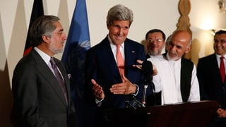 In Afghanistan werden die Stimmzettel neu ausgezählt