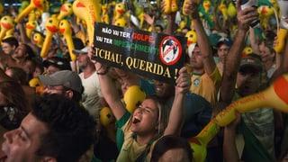 Jetzt amtiert Brasiliens Präsidentin auf dem Schleudersitz