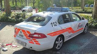 Fan-Krawalle in Basel: Mehrere Polizisten verletzt