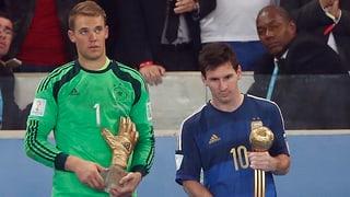 Messi, Neuer und James Rodriguez geehrt