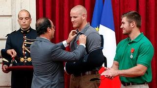 Höchster französischer Orden für die Helden des Thalys-Zugs