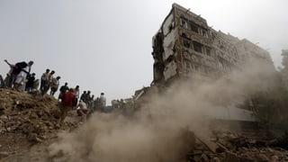Unesco-Weltkulturerbe in Jemen bombardiert