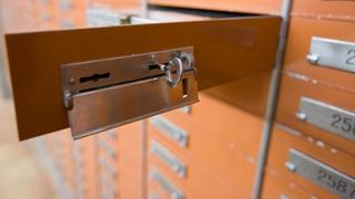 Schweizer Bankschliessfächer: Jedes dritte ist leer