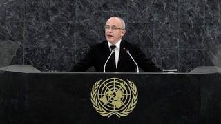 Maurer beunruhigt über «Rückfall in Machtpolitik»