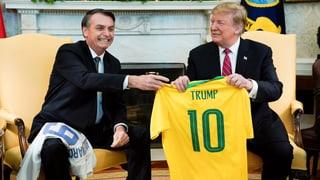 Trump bringt Nato-Mitgliedschaft Brasiliens ins Spiel
