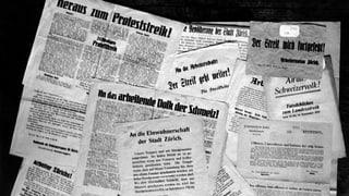 «Forderungen wie das Frauenstimmrecht sind zu verpönen.» Eine Presseschau aus der damaligen Zeit.
