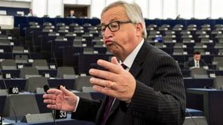Juncker nennt EU-Parlament «lächerlich»