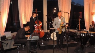 Blera prominenza a l'avertura dal festival da jazz