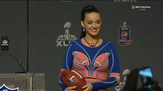 Katy Perry: «Mein Kostüm wird brennend heiss sein»