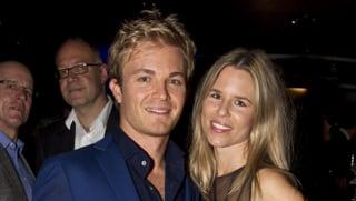 Nico Rosberg  zum ersten Mal Papa