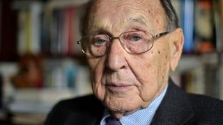 Genscher: «Zeit der Zäune sollte in Europa vorbei sein»