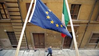 EU-Kommission weist Italiens Budget zurück