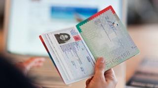 Den roten Pass gibt es nur mit einwandfreiem Leumund