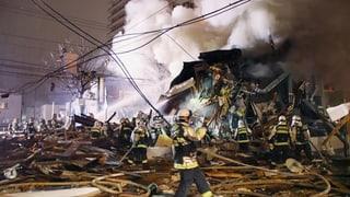 Explosion zerfetzt Restaurant (Artikel enthält Video)