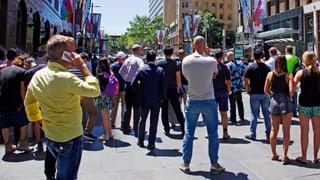 Australien: Ärger über Selfies am Tatort