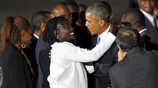 Obama: «Afrika ist eine der am schnellsten wachsenden Regionen»
