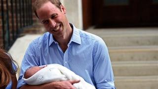 Für William ist Vater sein so streng wie die Armee