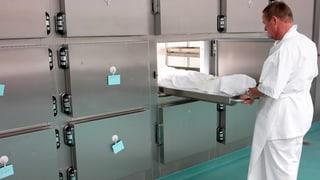 Immer weniger Autopsien in der Schweiz