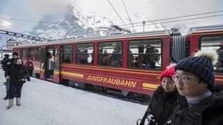 Nov record da visitaders tar las Viafiers da la Jungfrau