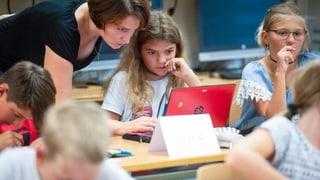 Wird der digitale Unterricht meiner Tochter schaden?