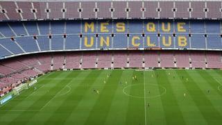 Der FC Barcelona gewinnt vor leeren Rängen