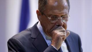 Russland zerstreut Hoffnung auf Waffenruhe in Aleppo