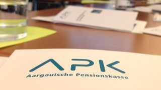 Aargauische Pensionskasse auf der Zielgeraden