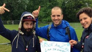 #srf3camp: Hörer Sandro ging zu Fuss nach Frauenfeld