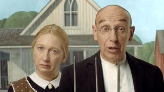 Video «Bilder allein zuhaus: American Gothic (1/30)» abspielen