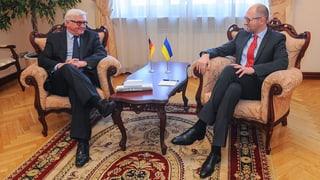 Steinmeier will Ukraine weiter unterstützen