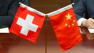 China und Schweiz kommen sich näher