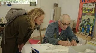Video «Ursprünglich und unbestechlich – Kunst aus dem Atelier CREAHM » abspielen