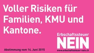 Gegner der Erbschaftssteuer: «Angriff aufs Erfolgsmodell Schweiz»