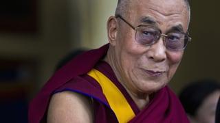 Dalai Lama besucht die Schweiz