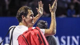 Federer steht nach Achterbahn-Fahrt im Halbfinal