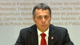 Das Protokoll zur Medienkonferenz des Bundesrats