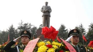 Grosser Bahnhof für Mao Tsetung