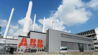 ABB Schweiz erhielt 2015 deutlich weniger Bestellungen