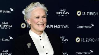 US-Schauspielstar Glenn Close erhält am Zurich Film Festival den Golden Icon Award