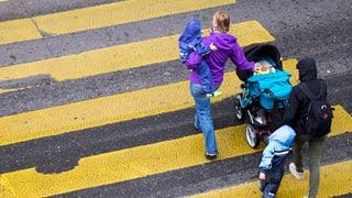Die Stadt Luzern erneuert 40 Fussgängerstreifen