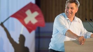 SVP-Parteipräsident Toni Brunner tritt zurück